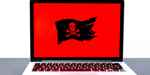 Computer attacked by ransomware